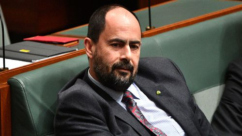 Ross Hart has stumbled through a radio interview on Labor's tax cut policy. Picture: AAP