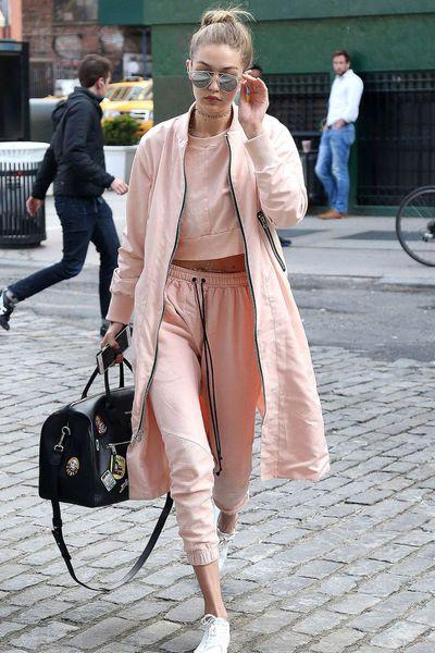Model Gigi Hadid in New York