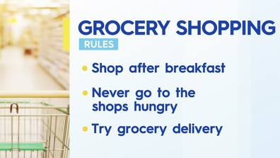 Dr Fuller's rules for healthy grocery buying.