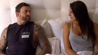 Tamara opened up to 'husband' Dan about her mother's death.