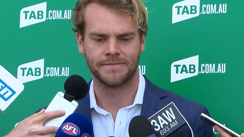 Jack Watts says footy is a brutal industry after Demons coach Simon Goodwin urged the former no.1 pick to explore his options.