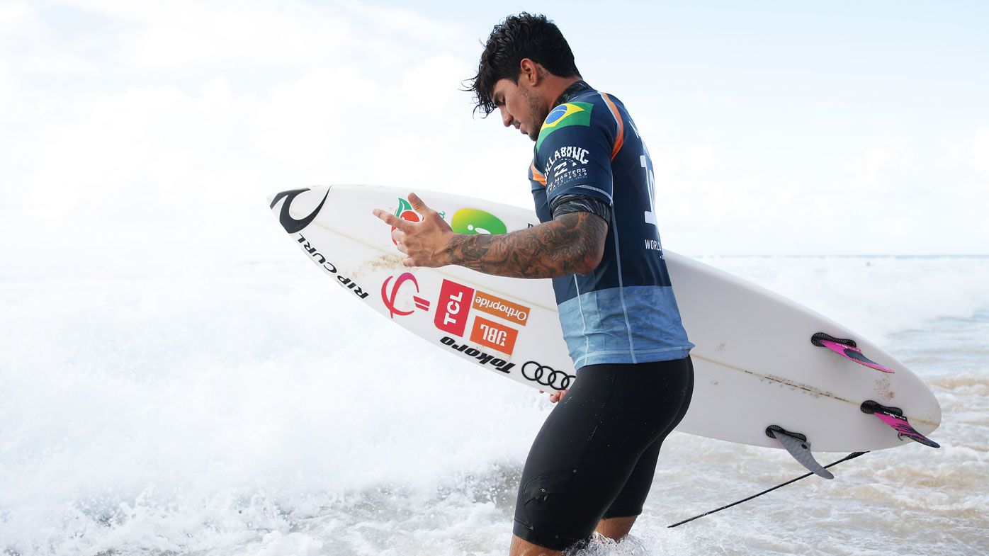 Gabriel Medina cleared after controversial move at Pipeline Masters