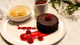 Family Food Fight: The Giles' Chocolate and Guinness Cake with Muscovado Malt Ice Cream