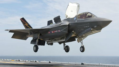 F-35 jump jets for navy landing ships not worth the cost, study finds