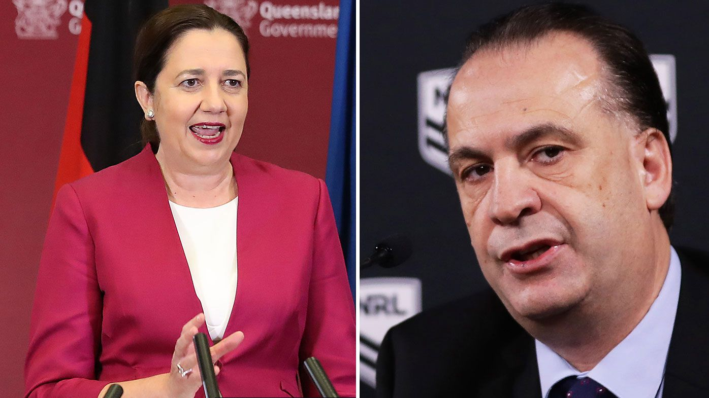 Queensland Premier Annastacia Palaszczuk clears Broncos, Cowboys and Titans to travel interstate