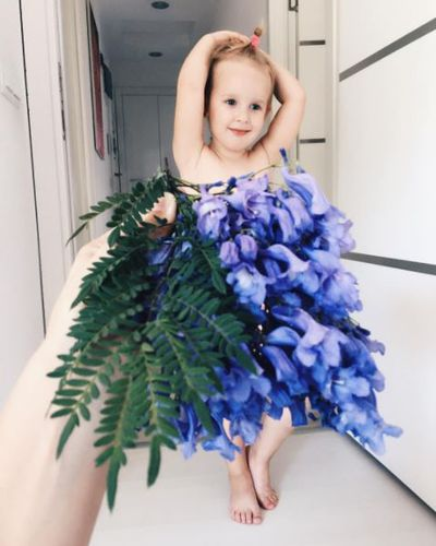 Bluebell gown.