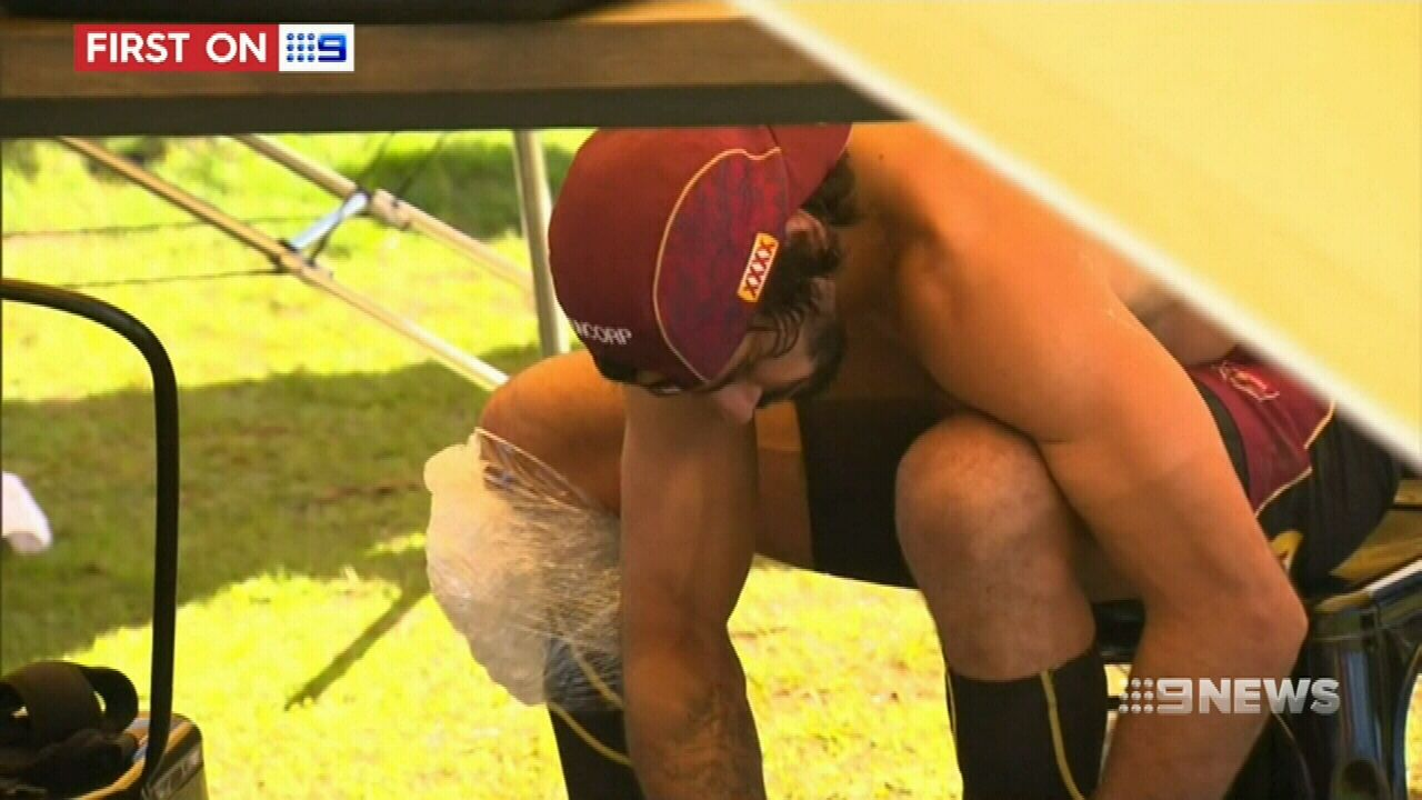 Thurston sends a scare through Queensland camp