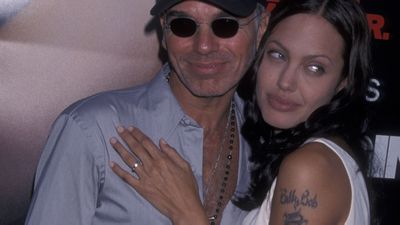Billy Bob Thornton and Angelina Jolie
