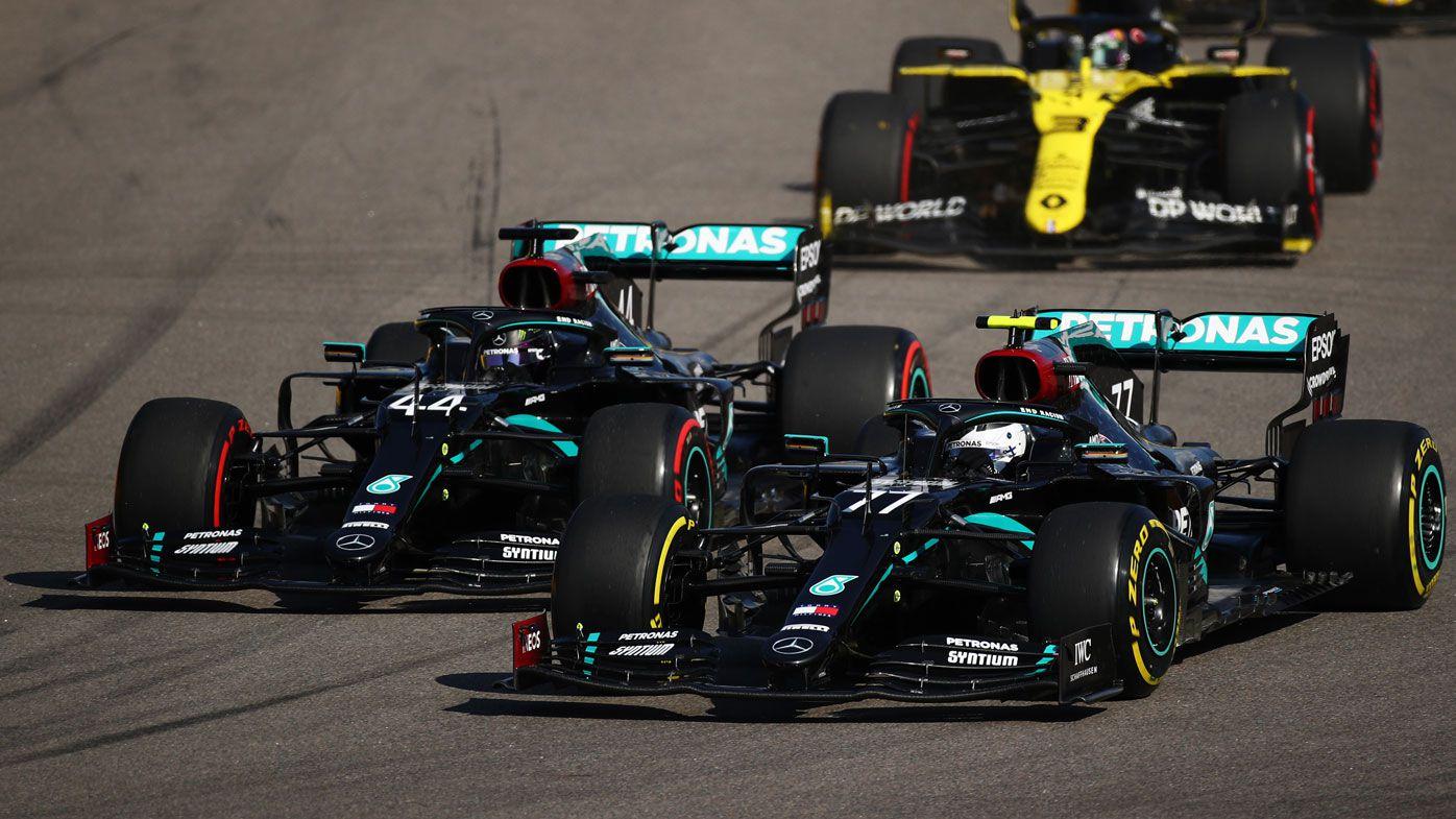 F1 Russian Grand Prix Race Results Lewis Hamilton Penalties Deny Win Valtteri Bottas First