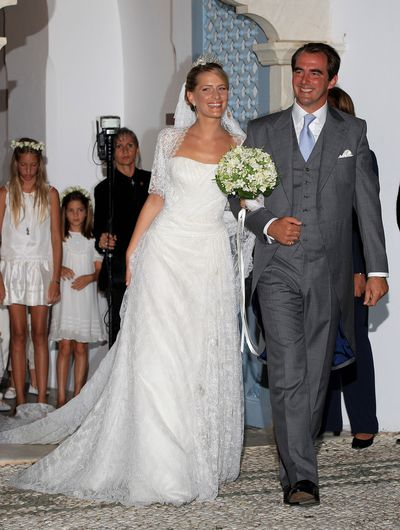Prince Nikolaos of Greece and Tatiana Blatnik, August 25 2010