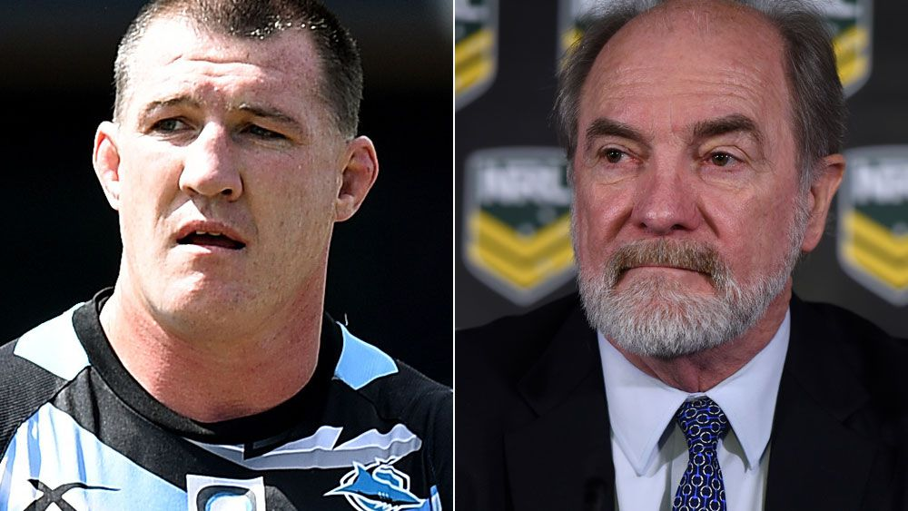 Paul Gallen (left) and John Grant (right). AAP