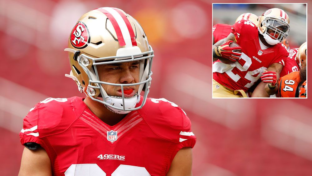Another 49ers running back injured