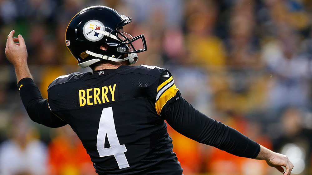 Pittsburgh Steelers punter Jordan Berry. (Getty)