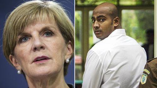 "Foreign Minister Julie Bishop says there will be ""consequences"" for Indonesia over the executions of Bali Nine drug dealers Andrew Chan and Myuran Sukumaran (pictured)."