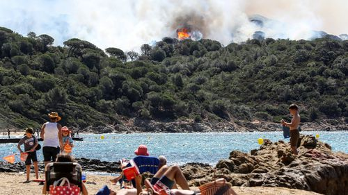 Many tourists are among those who have been evacuated. (AFP)