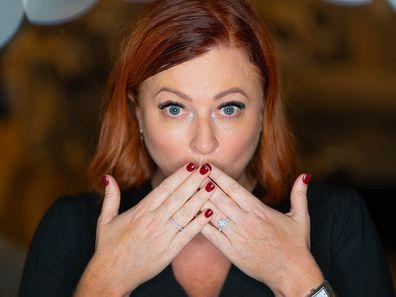 Shelly Horton's engagement ring