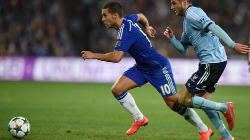 Chelsea beats Sydney FC 1-0 before roaring crowd of 83,500