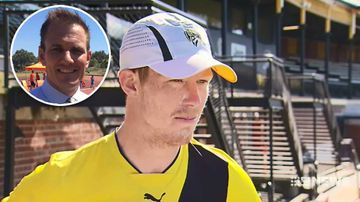 AFL star Jack Riewoldt reflects on the 'biggest injury of his career'