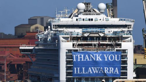 Lawsuit launched in Aus against cruise ship outbreak