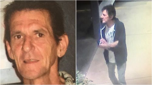 Michael McGarity went missing from Maitland Hospital in the NSW Hunter Region early yesterday morning.