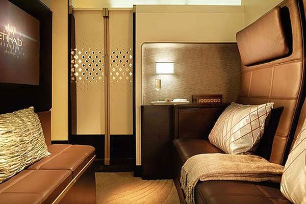 Etihad's new cabins are 'better than first class'.