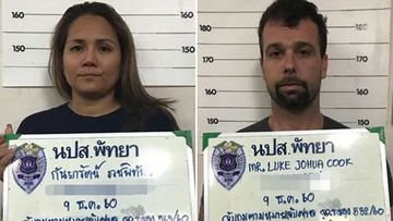 Kanyarat Wechapitak and Luke Cook have been handed the death penalty for drug smuggling in Thailand.