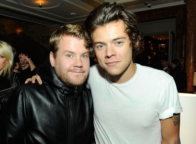 James Corden, Harry Styles and Olivia Wilde, relationship