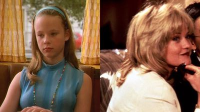 Thora Birch and Melanie Griffith as Tina Tercell in Now and Then