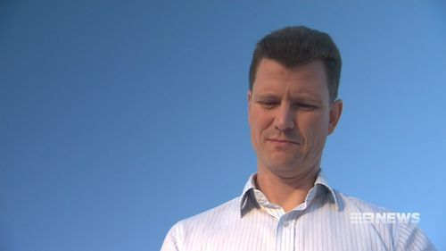 Paul Sutherland has been fighting Brisbane City Council for a year over an 'unfair' $91 parking fine. Picture: 9NEWS
