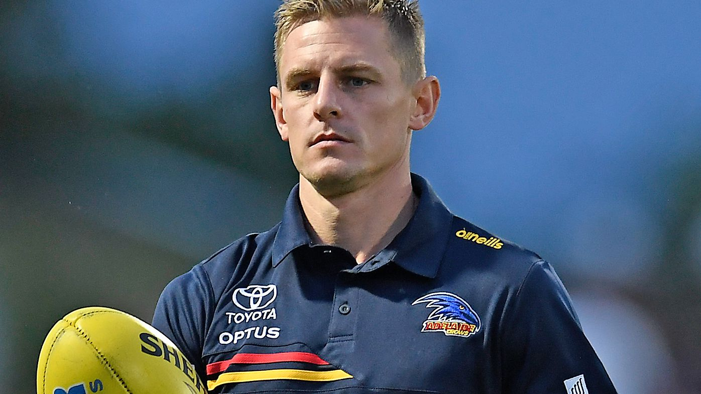 David Mackay of the Adelaide Crows