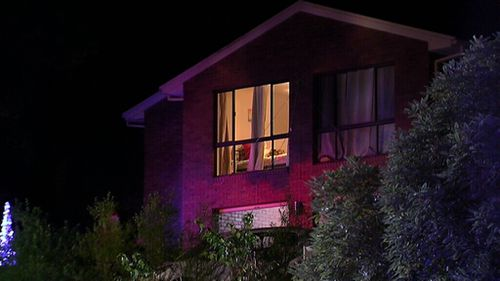 The balcony collapse occurred on Balinga Court in Doncaster East. (9NEWS)