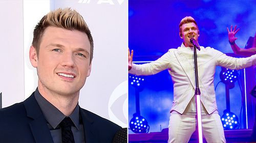 Nick Carter of the Backstreet Boys performs during the Festival d'ete de Quebec in Quebec City, Canada in July. (AAP)