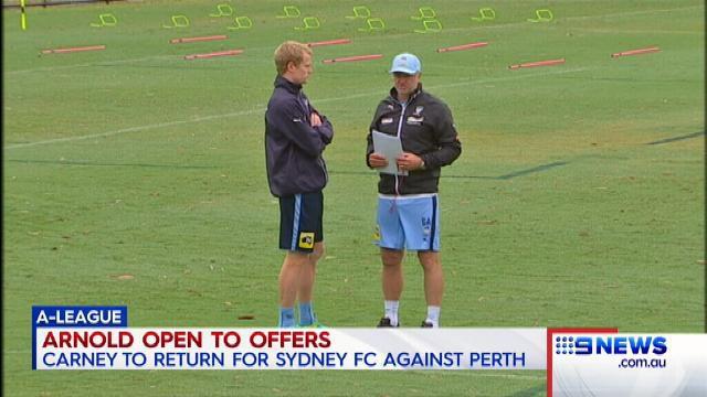 I want to turn Sydney FC into Man U: Arnie