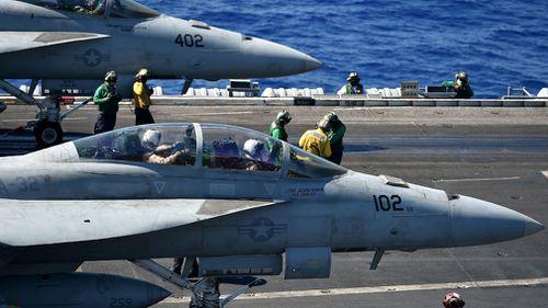 US fighter jet Japan crash