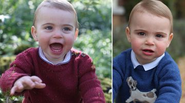 Prince Louis celebrates first birthday with adorable new pics