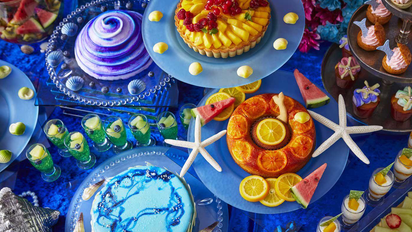 Keio Hotels Mermaid dessert buffet