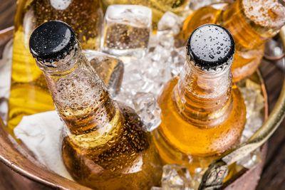 Beer: 118 calories per bottle