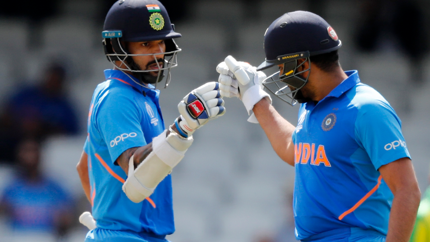 India opening batsmen Rohit Sharma and Shikhar Dhawan set record against Australia