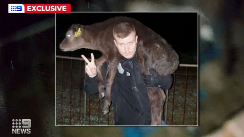 Convicted criminal and animal rights activists James Warden vows to expand operations interstate, after he stole a calf in Western Australia