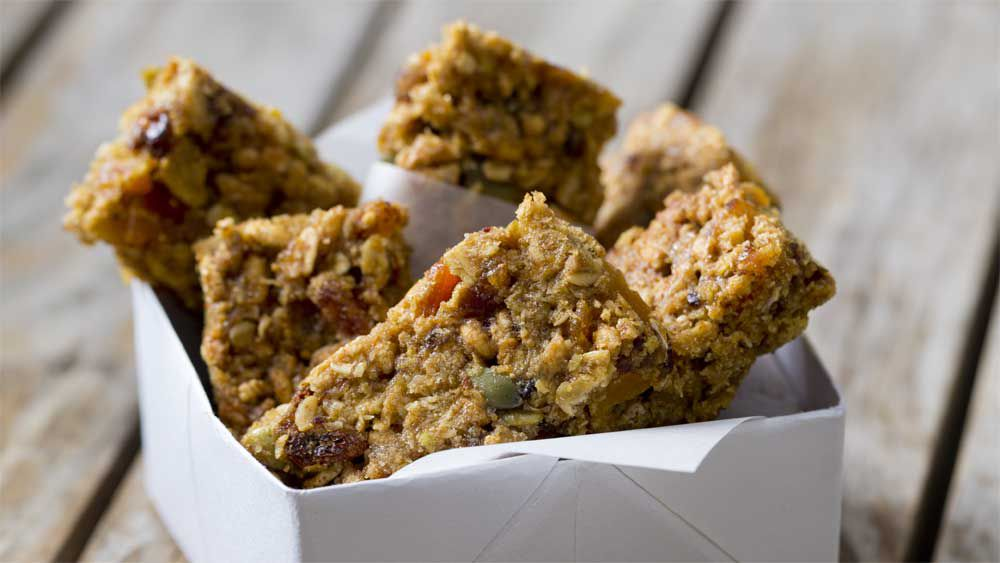 Thermomix fruity breakfast bars