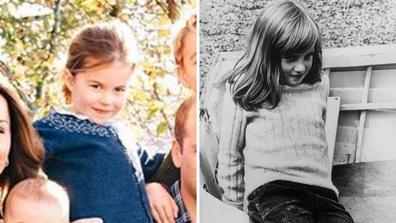Princess Charlotte Lady Diana Spencer