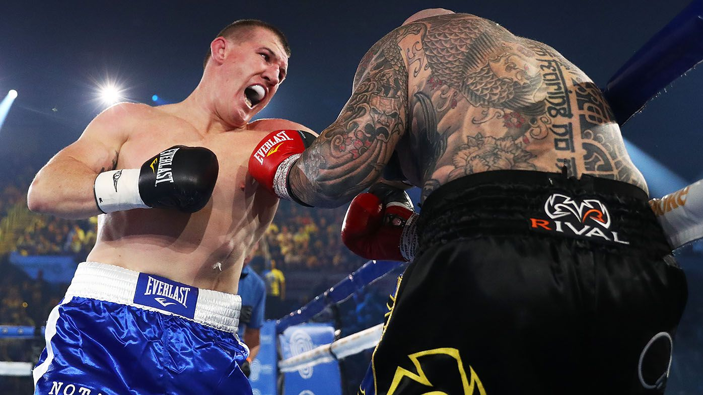 Paul Gallen reacts to possible marquee match-up against Justis Huni for next fight