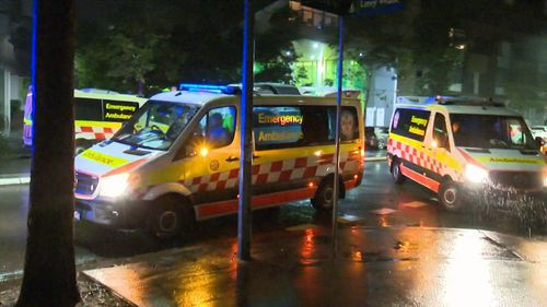 A man has been stabbed in Zetland.
