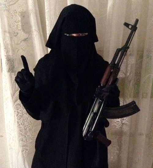 British Islamic State member Sally Jones was reportedly killed in airstrike with her 12-year-old son. Jones was a prolific recruiter of Western women to join the group in Iraq and Syria. (Supplied)