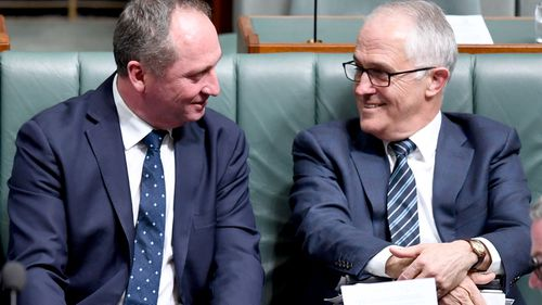 The Turnbull Government was thrown into crisis with the High Court's disqualification of Deputy PM Barnaby Joyce as a member of Parliament. (AAP)