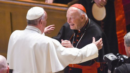 Pope Francis and ex-Cardinal McCarrick