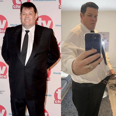 The Chase star Mark Labbett has revealed he's lost 63kg in a year.