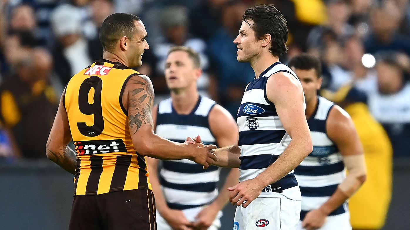 'Shame on you': Cats great Paul Chapman slams Hawks fans over Isaac Smith boos