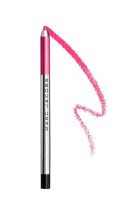 "<p><a href=""http://www.marcjacobs.com/beauty/"" target=""_blank"">Gel Eye Crayon in Lollipop, $33 approx, Marc Jacobs Beauty</a></p>"
