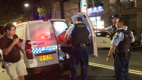 Police were first called to a hotel on Bayswater Road shortly before midnight. (Nine)